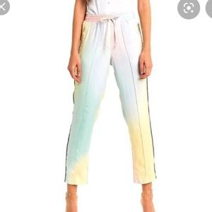 NEW NWT Wildfox Allegra Water Color Joggers